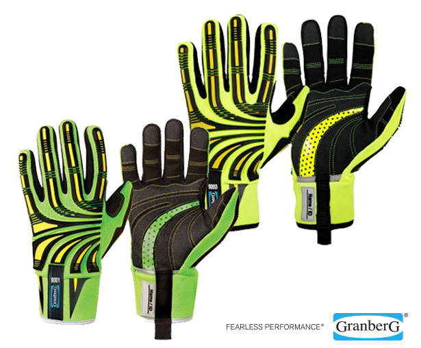 Granberg Impact Hi-Viz Cut F Gloves