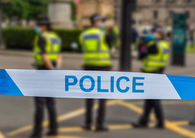 Knife attacks on police